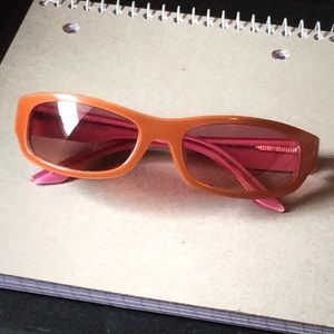 Calvin Klein- Orange and Pink Sunglasses